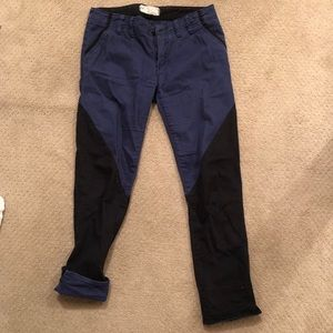 Denim - Free People boyfriend/relaxed fit pants